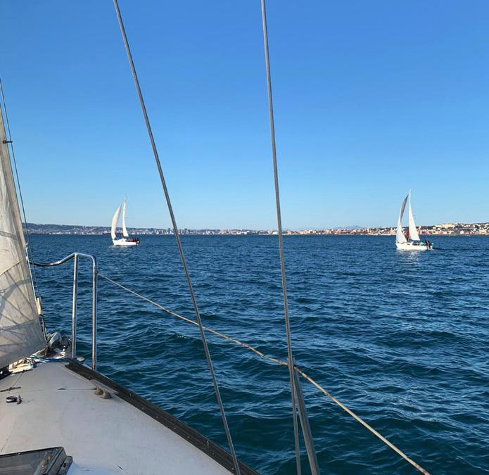 barche a vela a torre del greco